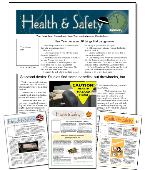 safety-array-top Team Safety And Health Newsletter Templates on safety board displays, summer camp flyer template, safety articles for newsletters, safety objective examples, safety newsletter header, safety newsletter banner, paycheck stubs template, halloween name tags template,